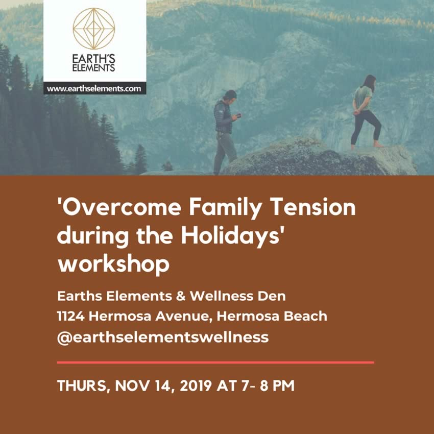"Dr. Stephan Poulter, PHD - ""Overcome Family Tension during the Holidays"" workshop"